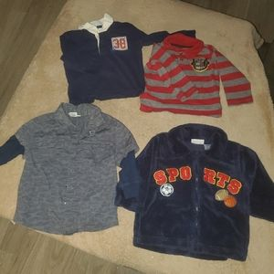 Collared boys shirts 18months